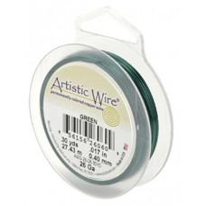 Beadalon 20 Gauge Artistic Wire, Green, 15YD