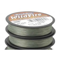 Beadalon 162P-008 Wildfire Beading Thread, 0.20mm, Green, 45m spool