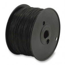 0.5mm Black Round Elasticity for jewellery stringing, 100m reel