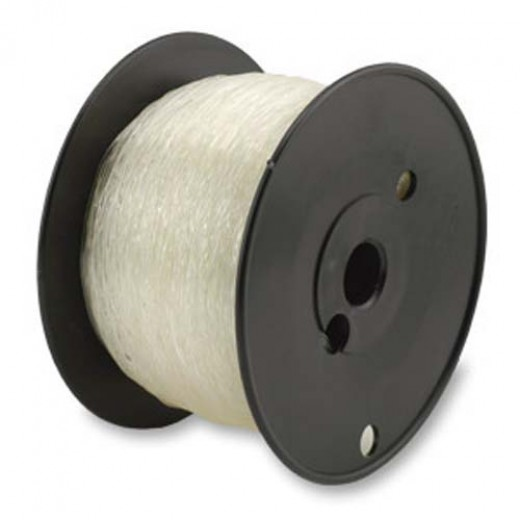 0.8mm Clear Round Elasticity, 100m reel