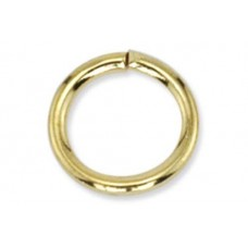 10mm Jump Rings, Gold, Pack of 144