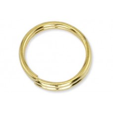 8mm, Gold Split Rings, 144 Pack - Beadalon brand