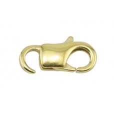 11mm Gold EZ- Lobster Clasps, Pack of 12