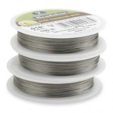 "Bright, 0.15"", 30ft Reel Beadalon 7 Strand  Beading Wire, JW02T-0"