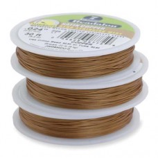 "JW03NCU-1, 7 Strand Wire, Satin Copper Colour, 0.018"", 100ft Reel"