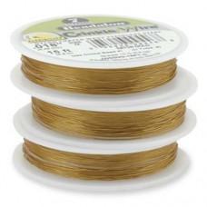 "JW02NCU-15FT-C, 7 Strand Crinkle Wire, Satin Copper, 0.015"", 15ft Reel"