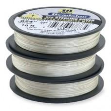 "Beadalon JW17STG-10FT 19 Strand Sterling Silver Wire, 0.024"", 10ft Reel"