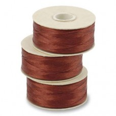 Shoe Red Nymo Beading Thread, Size D (0.30mm)