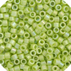 Chartreuse AB, Colour Code 0169, Size 11/0 Delicas, 5.2g approx.