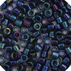 Blue Iris, Colour code  2 Size 15/0 Delicas, 5.2g approx.