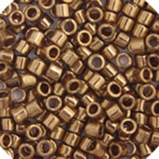 Bronze Metallic, Colour code  22 Size 15/0 Delicas, 5.2g approx.