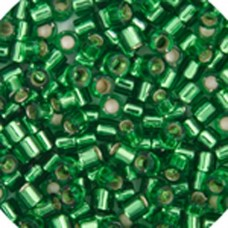 Light Green Silver Lined, Colour code  46 Size 15/0 Delicas, 5.2g approx.