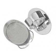 Silver Handmade Bezel, Oval Ring, 30 x 20mm