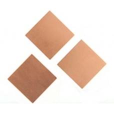 Square 27mm No Hole, 24ga Copper Blank 1 piece