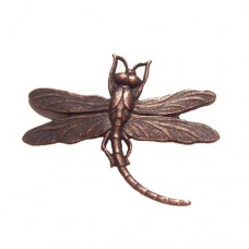 Solid Brass Dragonfly Pendant in Antique Copper finish, 23 x 26mm