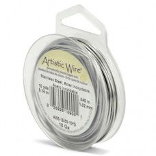 Stainless Steel Coloured 24ga Artistic Wire, 20YD (18.2m)