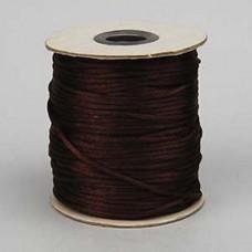 Rattail Cord 2mm Light Chocolate, priced per 5 metre