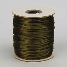 Rattail Cord 2mm Olive, priced per 5 metre