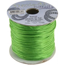 Rattail Cord 1.5mm Grass Green in 5m pack