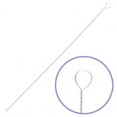 Fine Beadalon Twisted Needles, 8.9cm long, Bulk Pack Of 50, 700F-200