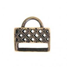 Miyuki-Strap Findings Rect. 17x16.5mm Bronze, 2pieces