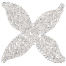 Swarovski Crystal Rock Quatro 44.5mm Silvershade Crystal