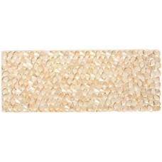 Swarovski Crystal Rock Rectangle 63.5x25mm Golden Shadow Crystal