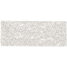 Swarovski Crystal Rock Rectangle 63.5x25mm Silvershade Crystal