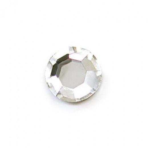 Swarovski Flat Back Crystal - Crystal 14mm