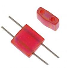 Red Transparent Matte AB  Colour 0140 Miyuki Tila Bead 5.2g Tube