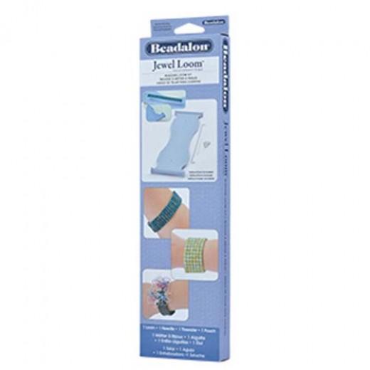 Beadalon Beading Loom Kit - includes Case, Needle and Threader