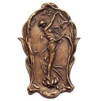 Lady Vine Pendant, Antique Brass Finish