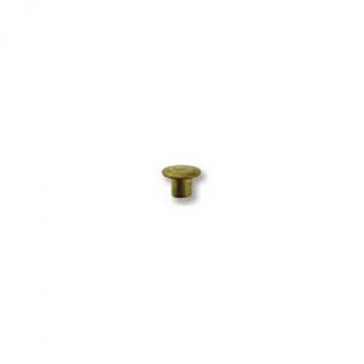 Metal Elements Brass Hollow Rivet for Metal Stamping, 1/16dia 1/16 length, 100 pcs