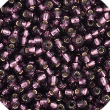 Purple Silver Lined, Size 11/0, 22g