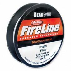 Fireline Thread, 6lb Crystal Clear 125yd 0.006