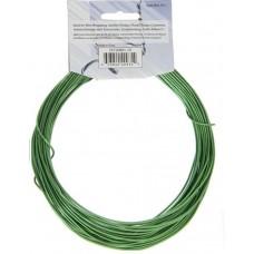 Aluminium Wire 12ga (2.5mm)  30ft Round Green