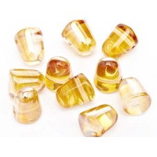 Crystal Apricot Medium Gumdrops, 10pcs