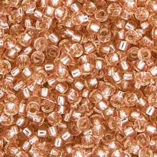 Pink Mist Silver Lined Colour -0023, Miyuki 11/0, 22g