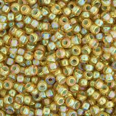 Bulk Bag Light Topaz Pale Blue Lined Luster Miyuki 11/0 Seed Beads, 250g, Colour...