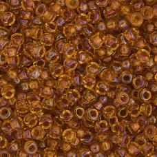 LightTopaz Topaz Lined AB Sparking Miyuki 11/0 Seed Beads, 250g, Colour 0377