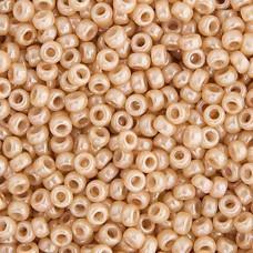 Beige Glazed Luster Miyuki 11/0 Seed Beads, 250g, Colour 0593