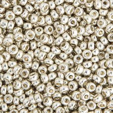 Bulk Bag Silver Galvanized Miyuki 11/0 Seed Beads, 250g, Colour 1051