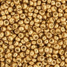 Duracoat Galvanized Gold Miyuki 11/0 Seed Beads, 250g, Colour 4202