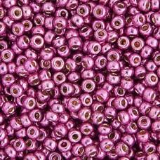 Bulk Bag Duracoat Galvanized Hot Pink Miyuki 11/0 Seed Beads, 250g, Colour 4210