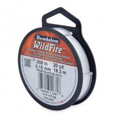 Beadalon 162U-004 Wildfire, 0.20mm, Frost, 20yds