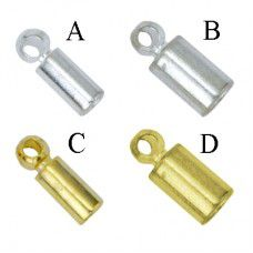 Beadalon CordEnds - Gold 1.5mm 304A-011 - 12 pcs in a pack