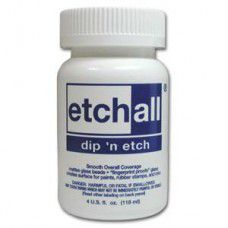 Dip 'n' Etch  Glass Matting solution 4 fl.oz. 108ml