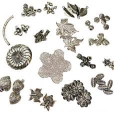 Silver Charms / Beads Bundle
