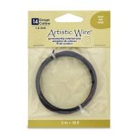 Black, 10 ft (3.1m) 14ga Copper Wire