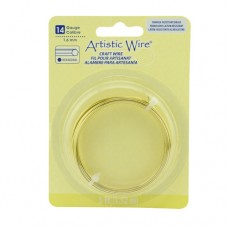 Tarnish Resistant Silver, 5 ft (1.52) 14ga Hexagonal Copper Wire